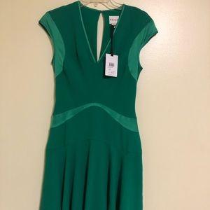 reiss clothing hira open back vintage dress